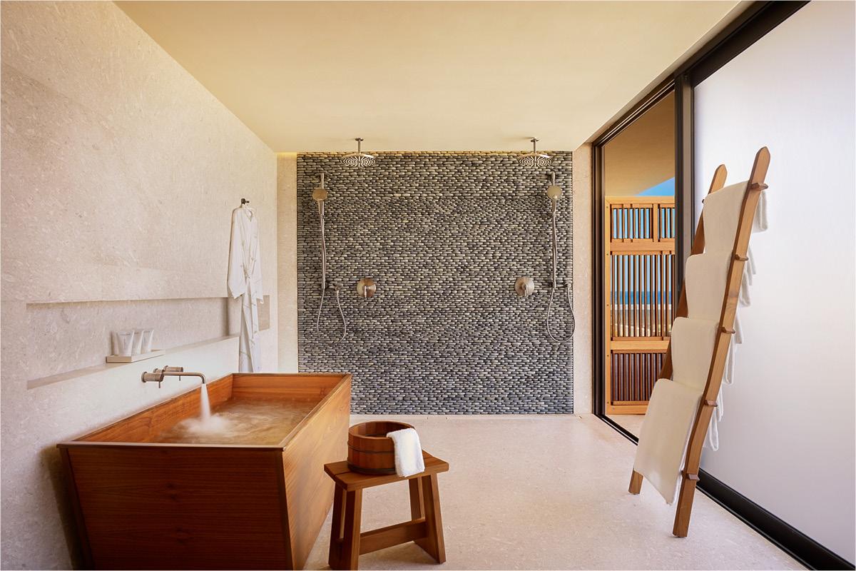 Nobu Hotel Los Cabos Junior Suite bedroom