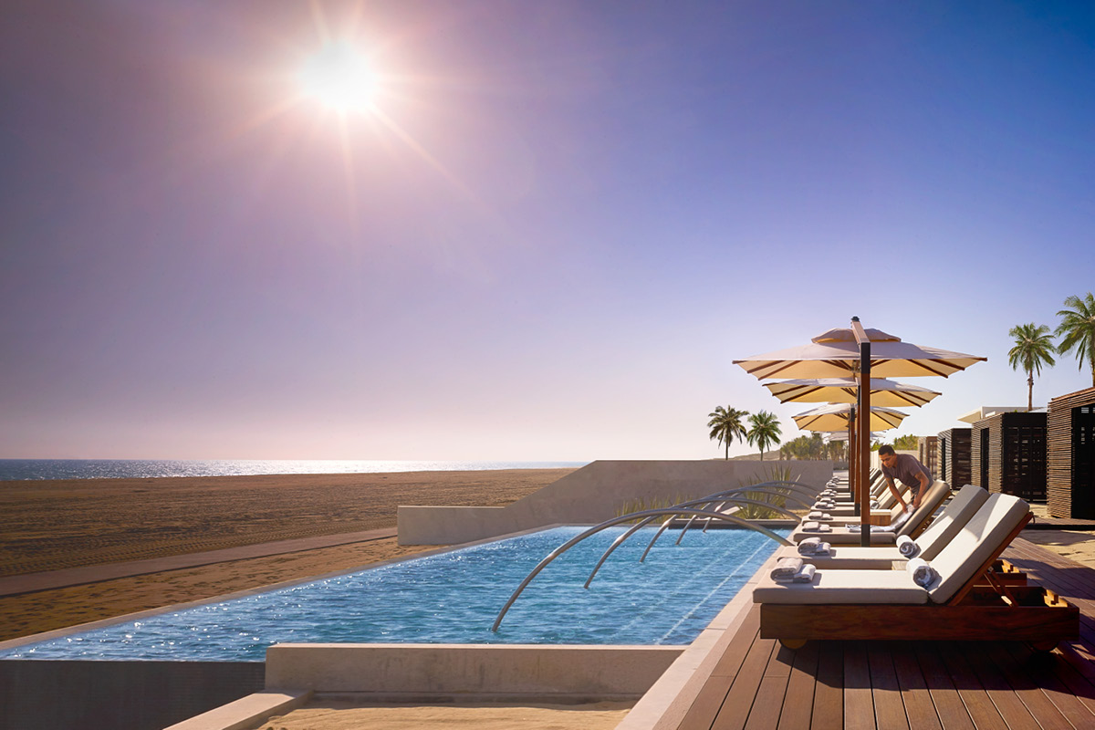 Nobu Hotel Los Cabos sunset pool