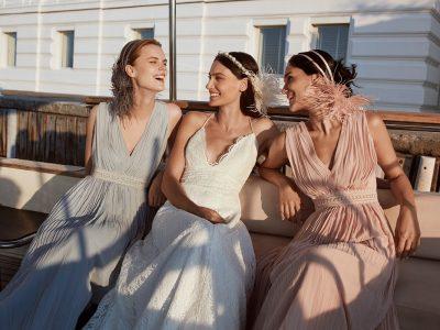 Rowley Hesselballe Jemre Dress in Grey £299, Aden Dress £999 and Jemre Dress in Pink £299