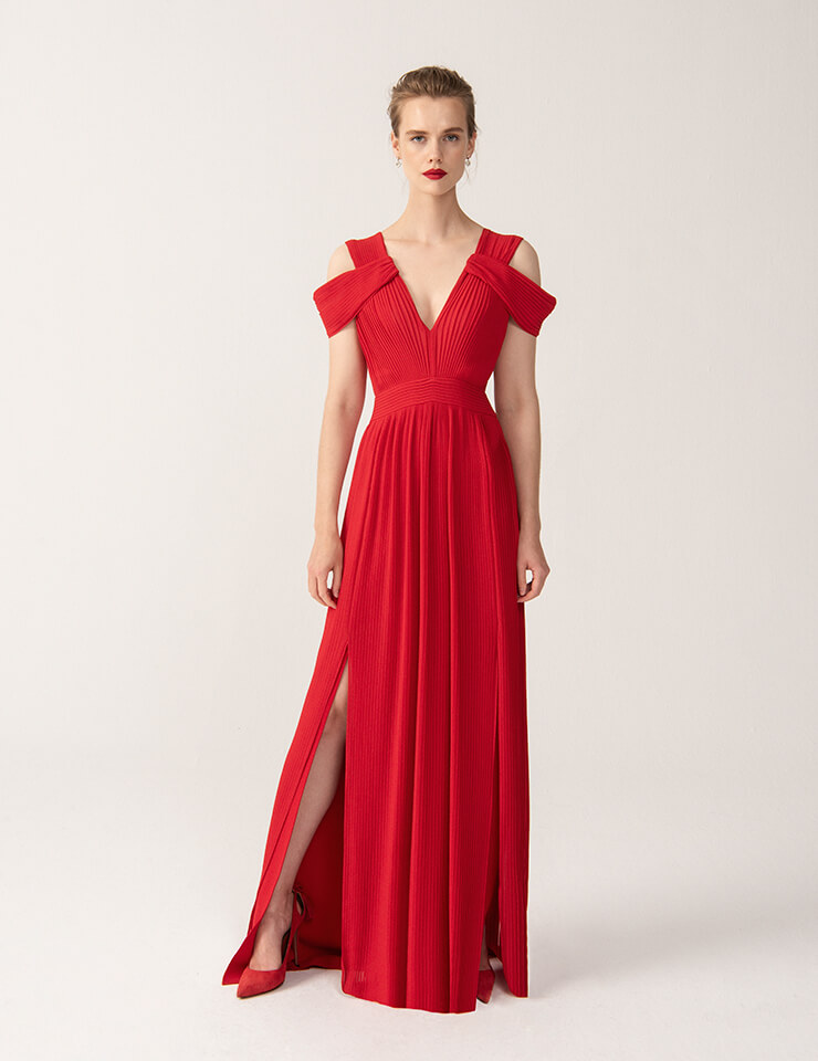 Rowley Hesselballe dresses: Jeylin Dress in Red £329