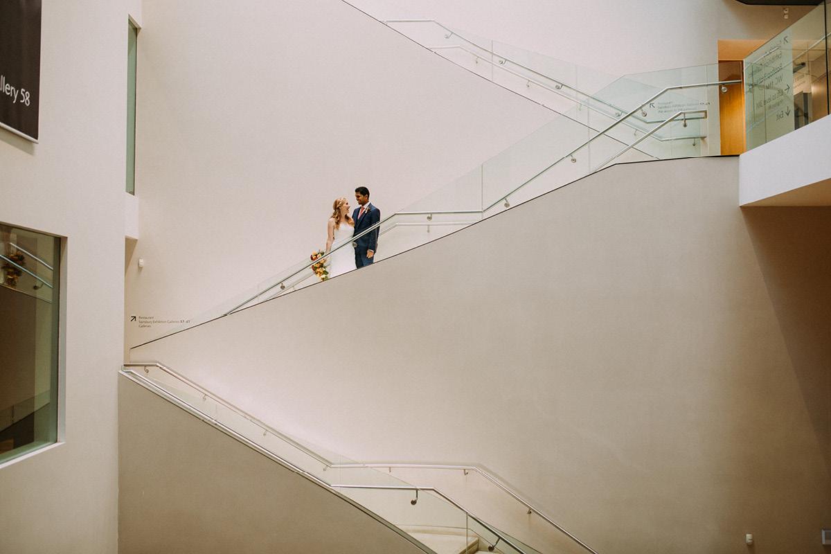 Ashmolean Museum Atrium Staircase