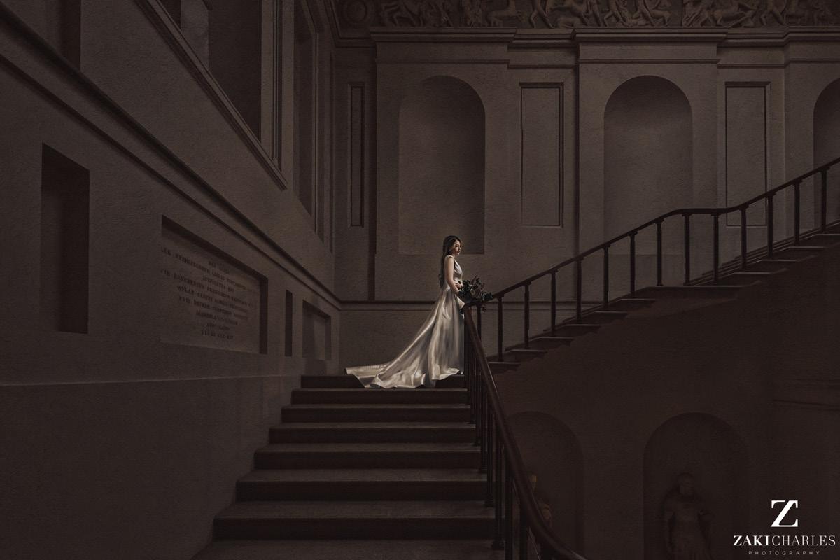 Ashmolean Museum bride staircase