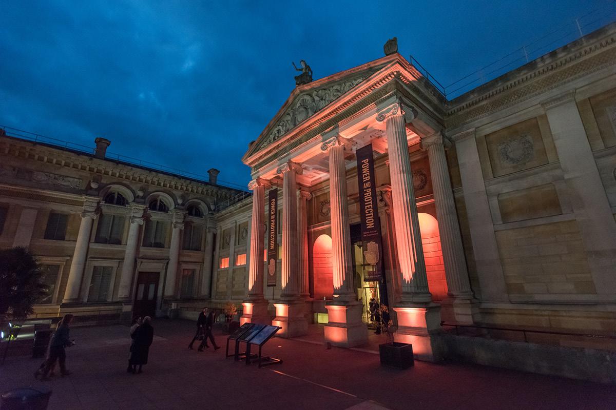 Ashmolean Museum exterior