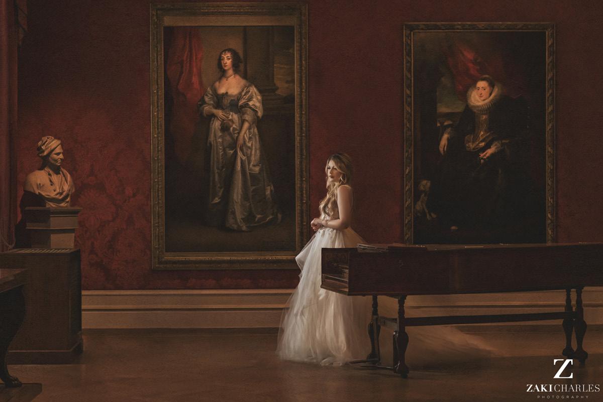 Ashmolean Museum piano
