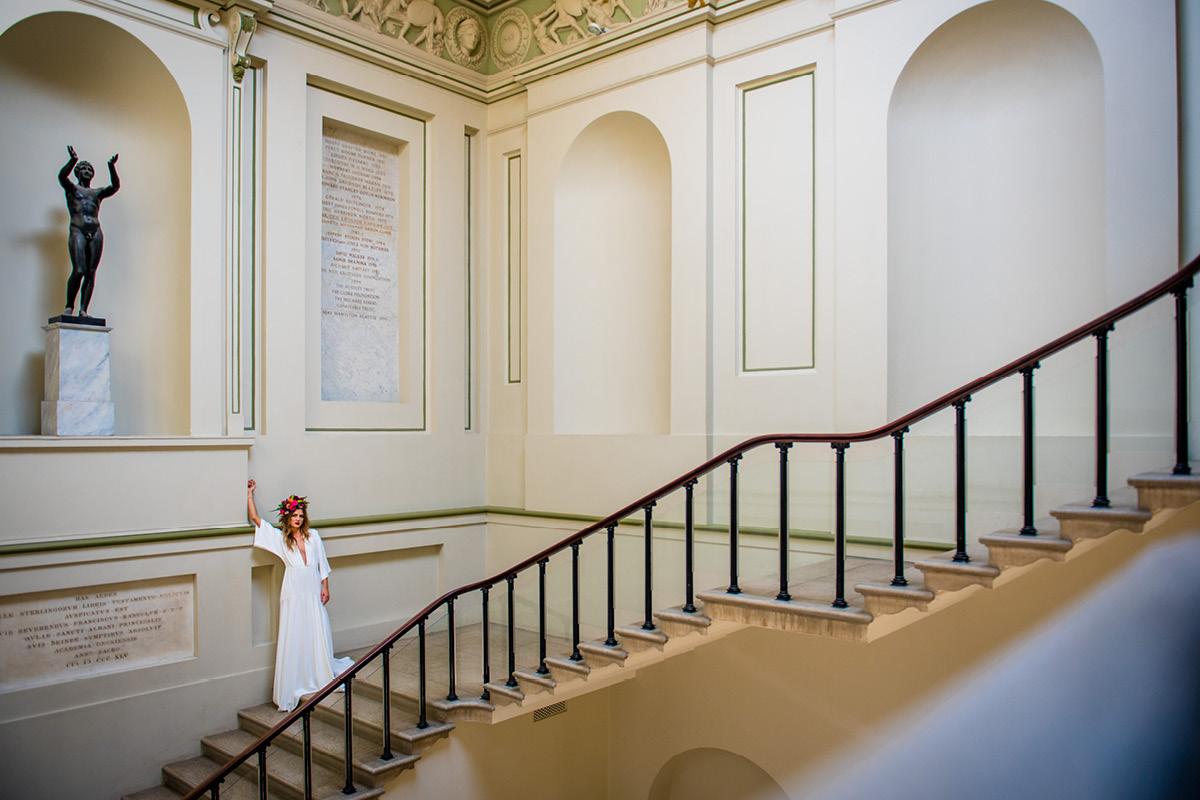 Ashmolean Museum styled shoot