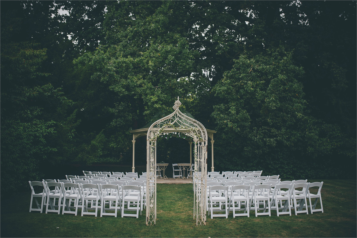 Manor By The Lake outdoor ceremony