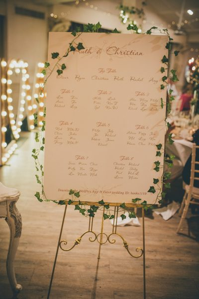 Manor By The Lake table plan
