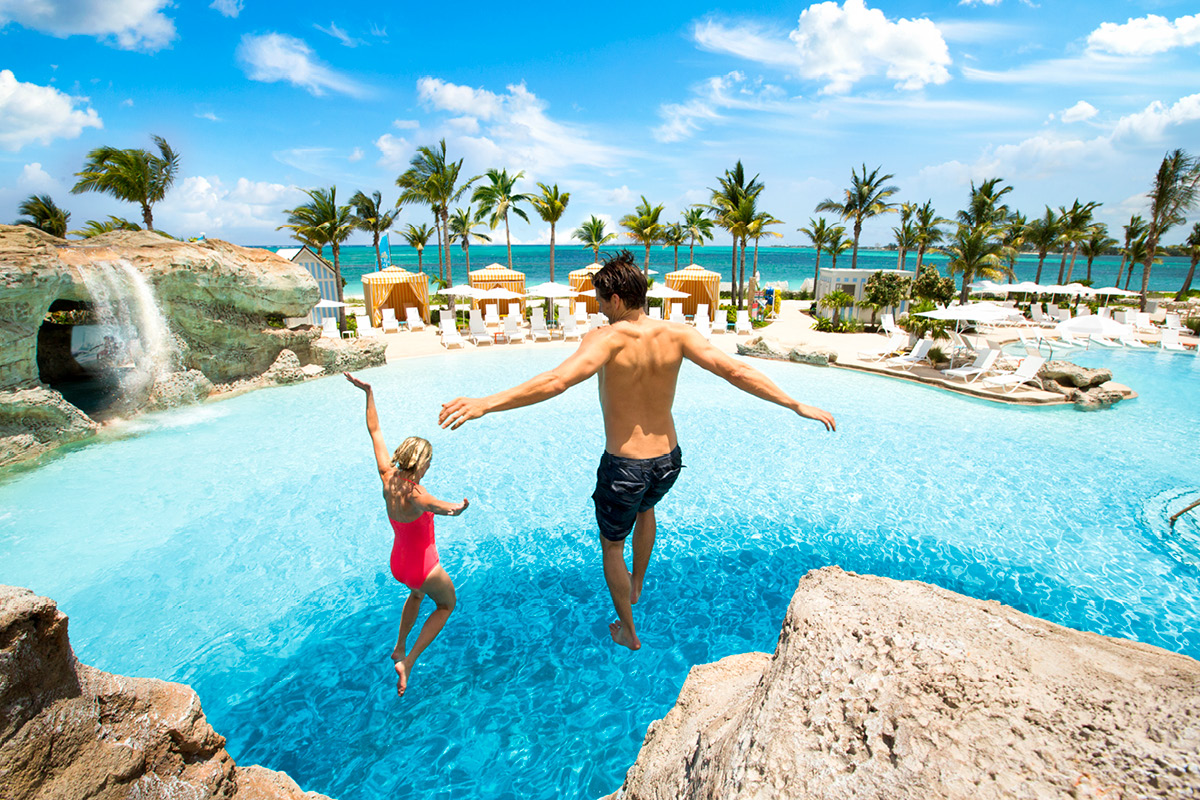 Bahamas Baha Mar Blue Hole Pool