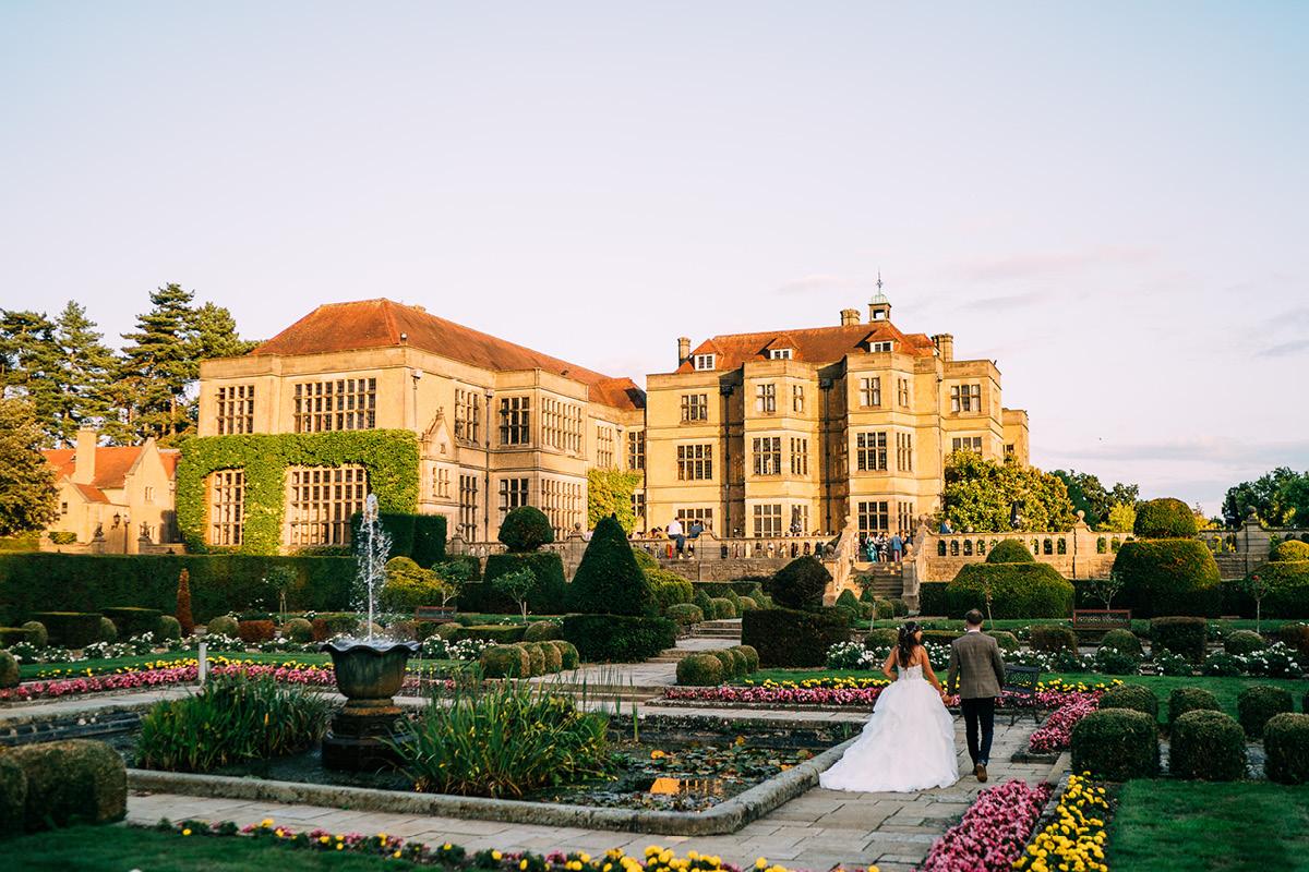 Fanhams Hall gardens