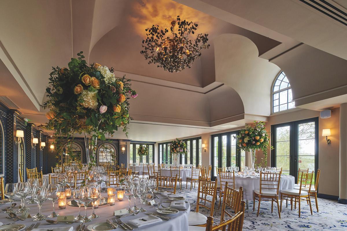Monkey Island Estate Malborough Ballroom