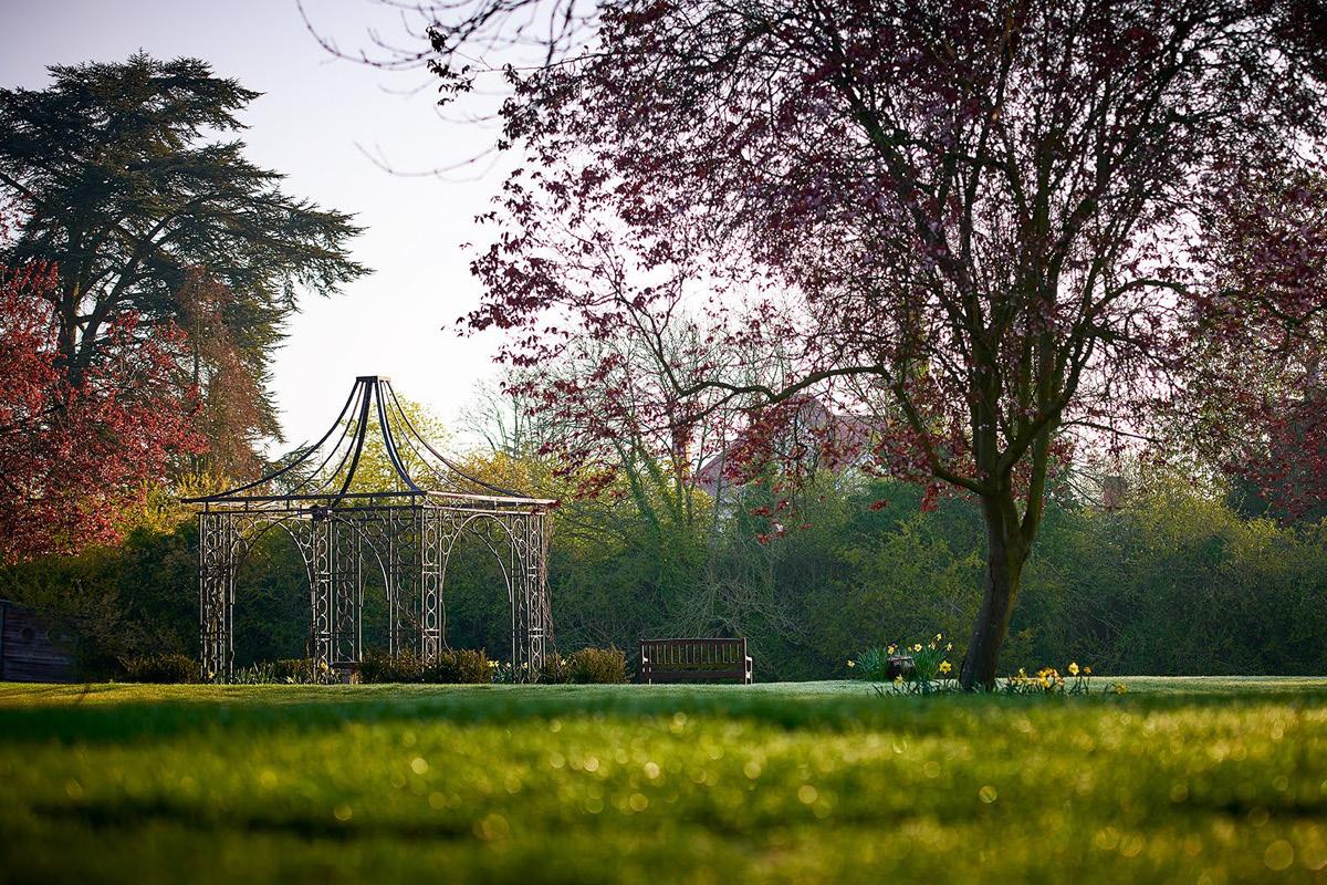 Monkey Island Estate Temple Lawn