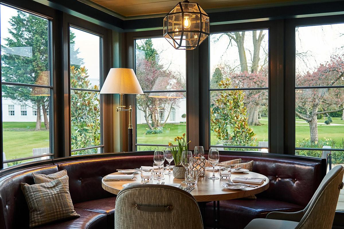Monkey Island Estate dining