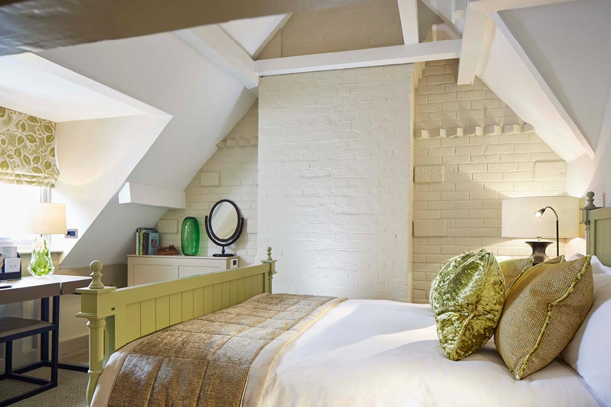 Pennyhill Park bedroom