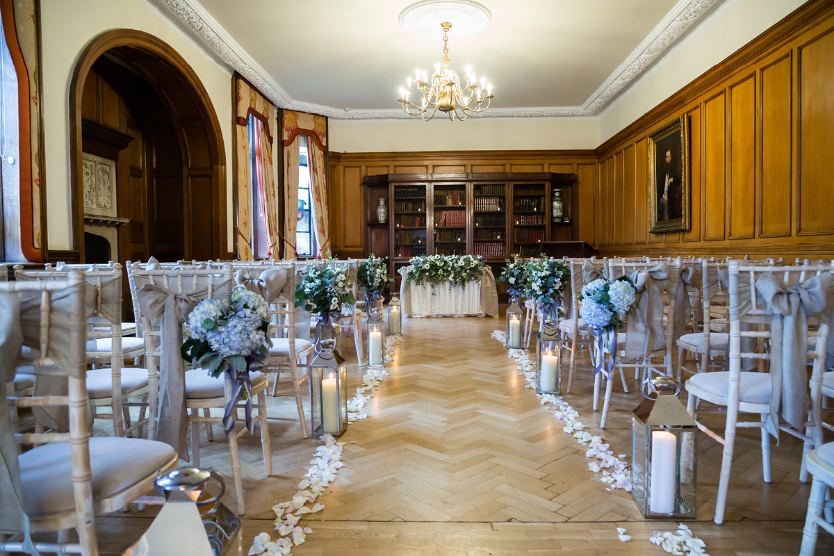 Pennyhill Park ceremony