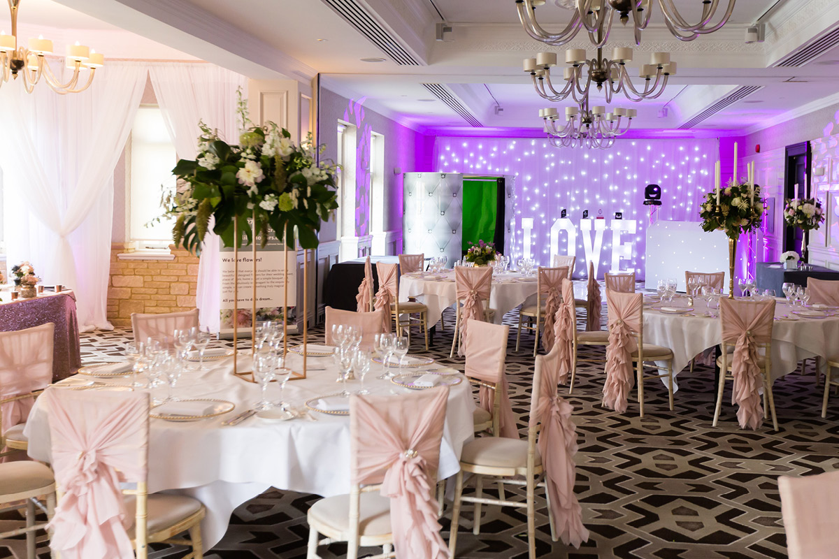 Pennyhill Park reception
