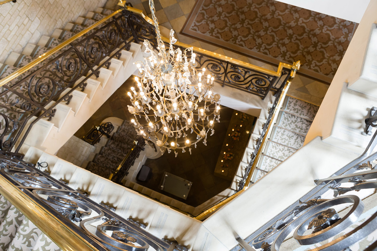 Pennyhill Park staircase