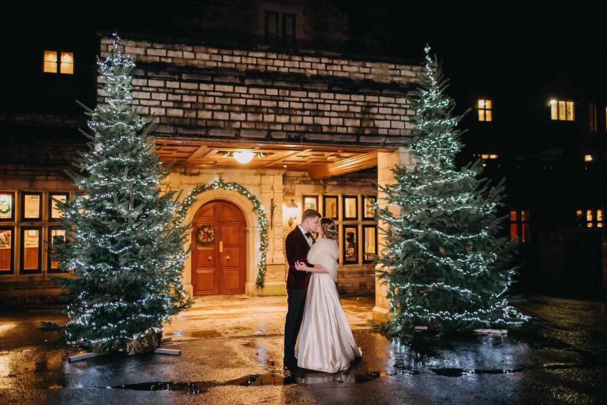 South Lodge christmas wedding