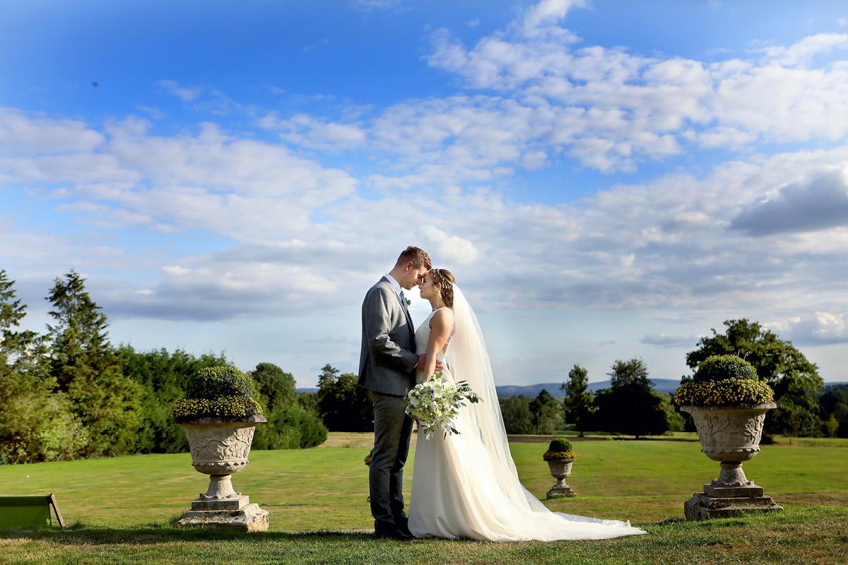 South Lodge wedding couple