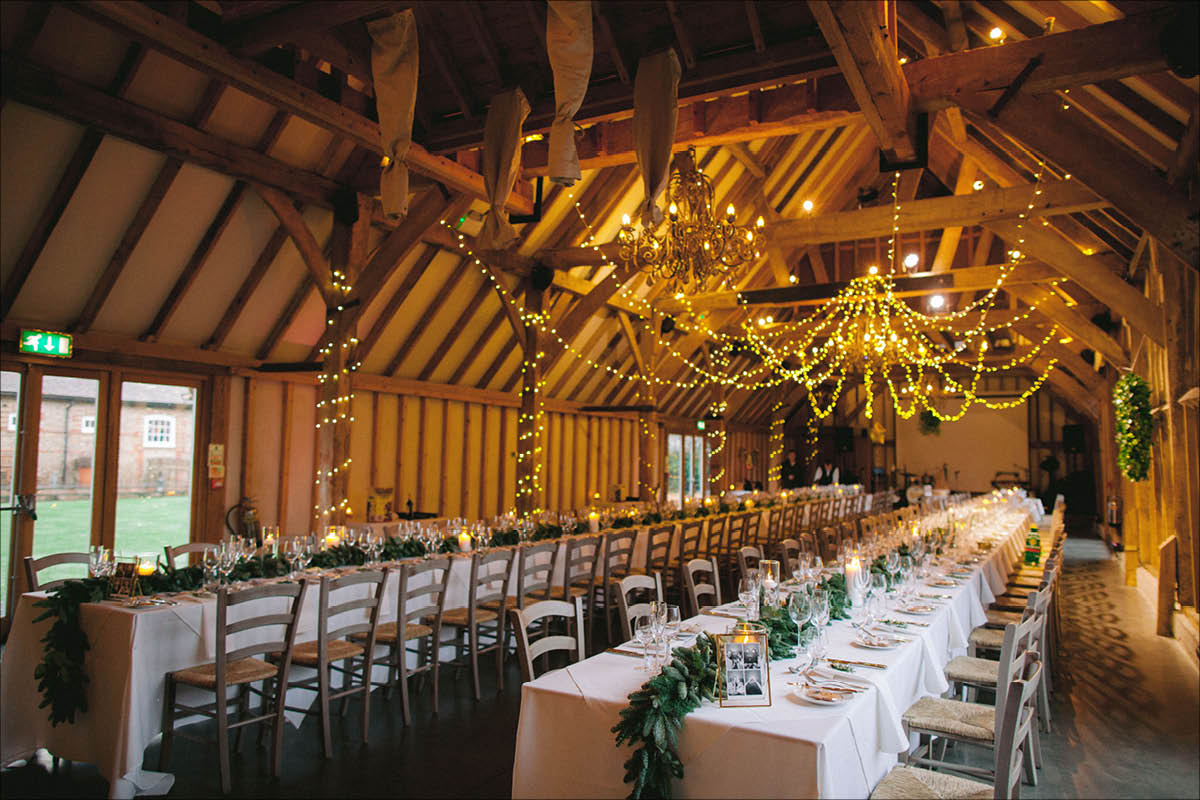 Southend Barns wedding breakfast
