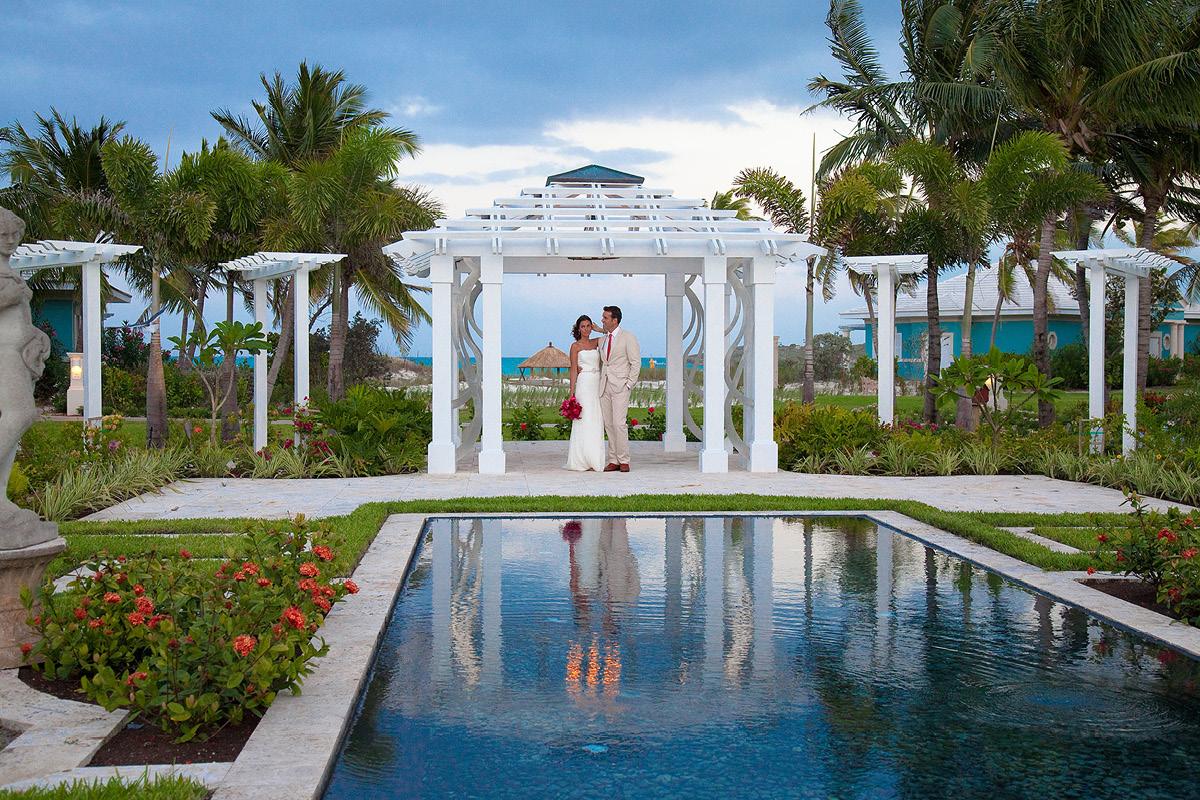 Bahamas Wedding Gazebo