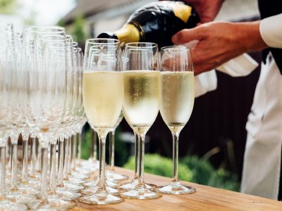 Raise a glass: Wedding toast ideas