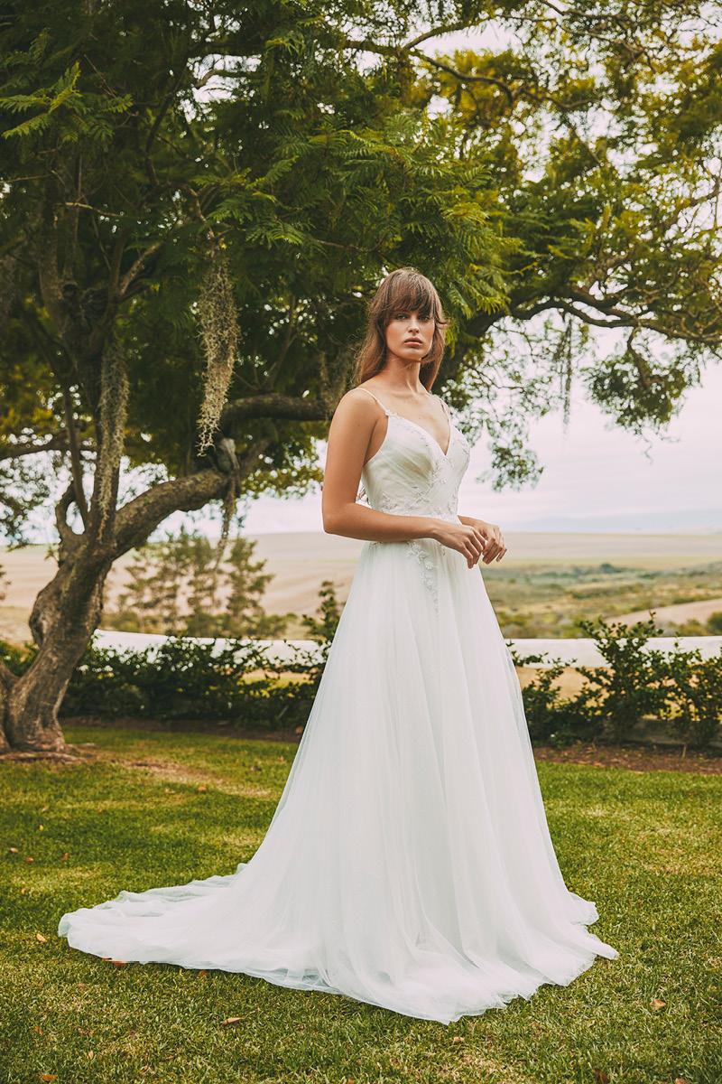Anna Georgina Fern gown