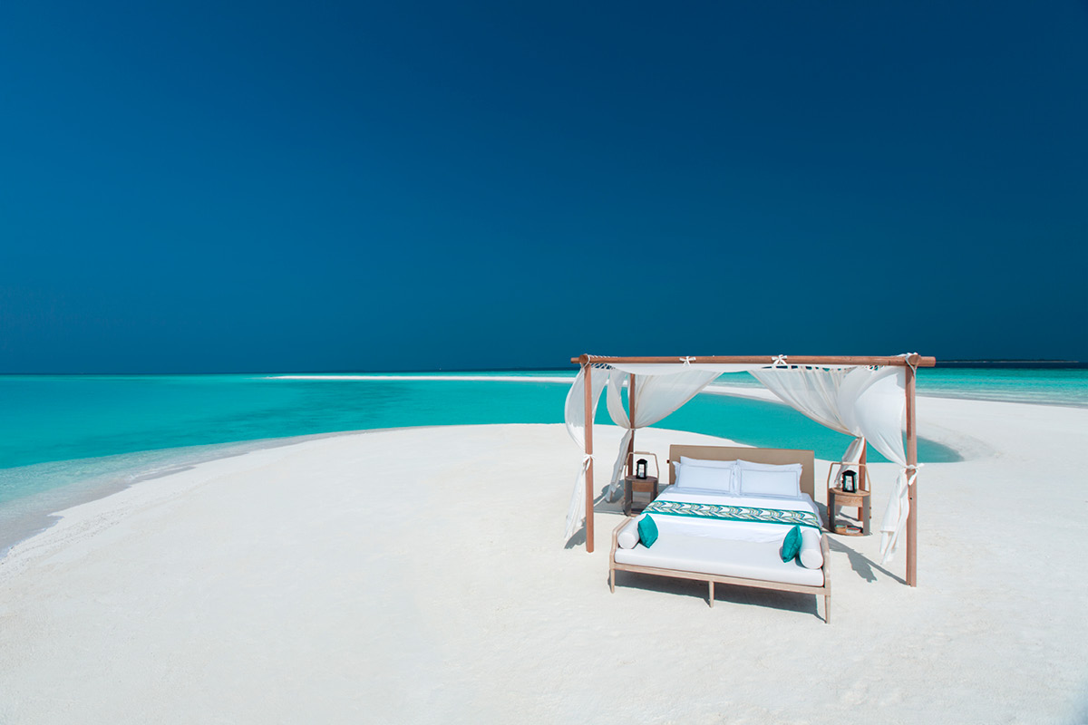Milaidhoo Island Maldives - private sandbank