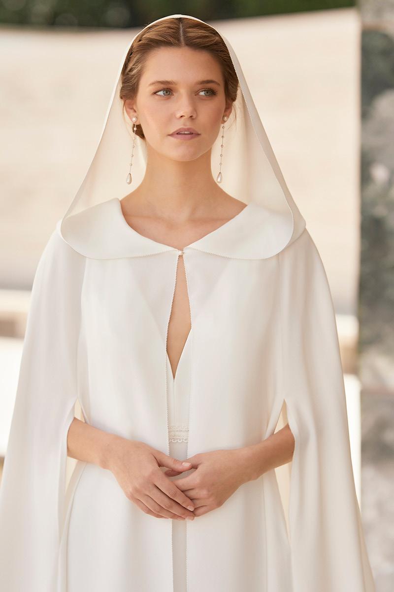 Rosa Clara bridal coats and capes