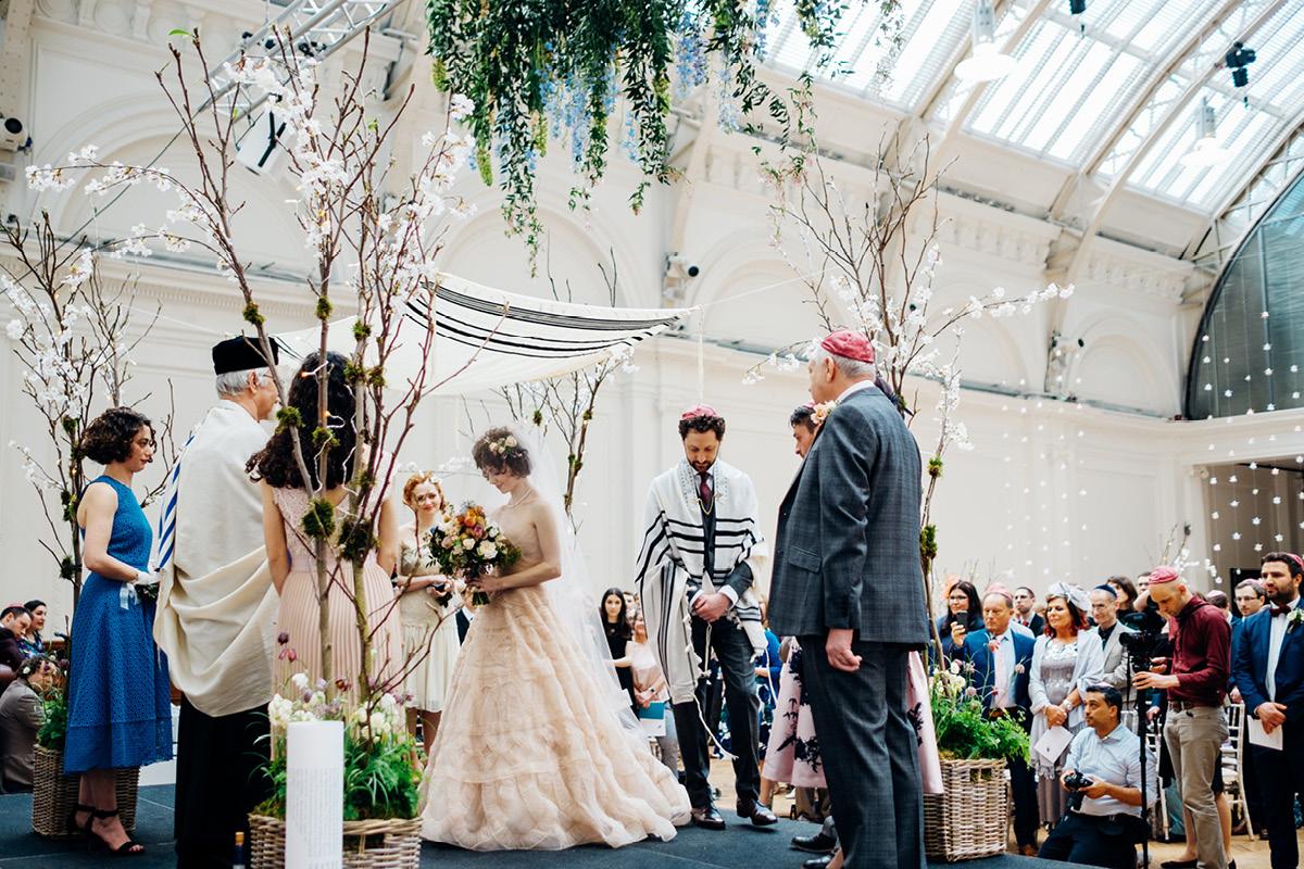 Royal Horticultural Halls ceremony