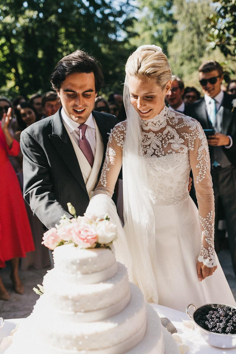 Sabrina & Edouard wedding cake