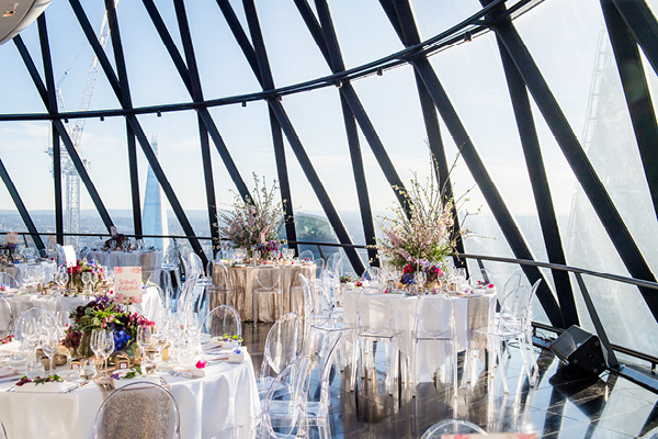 Searceys at the Gherkin London