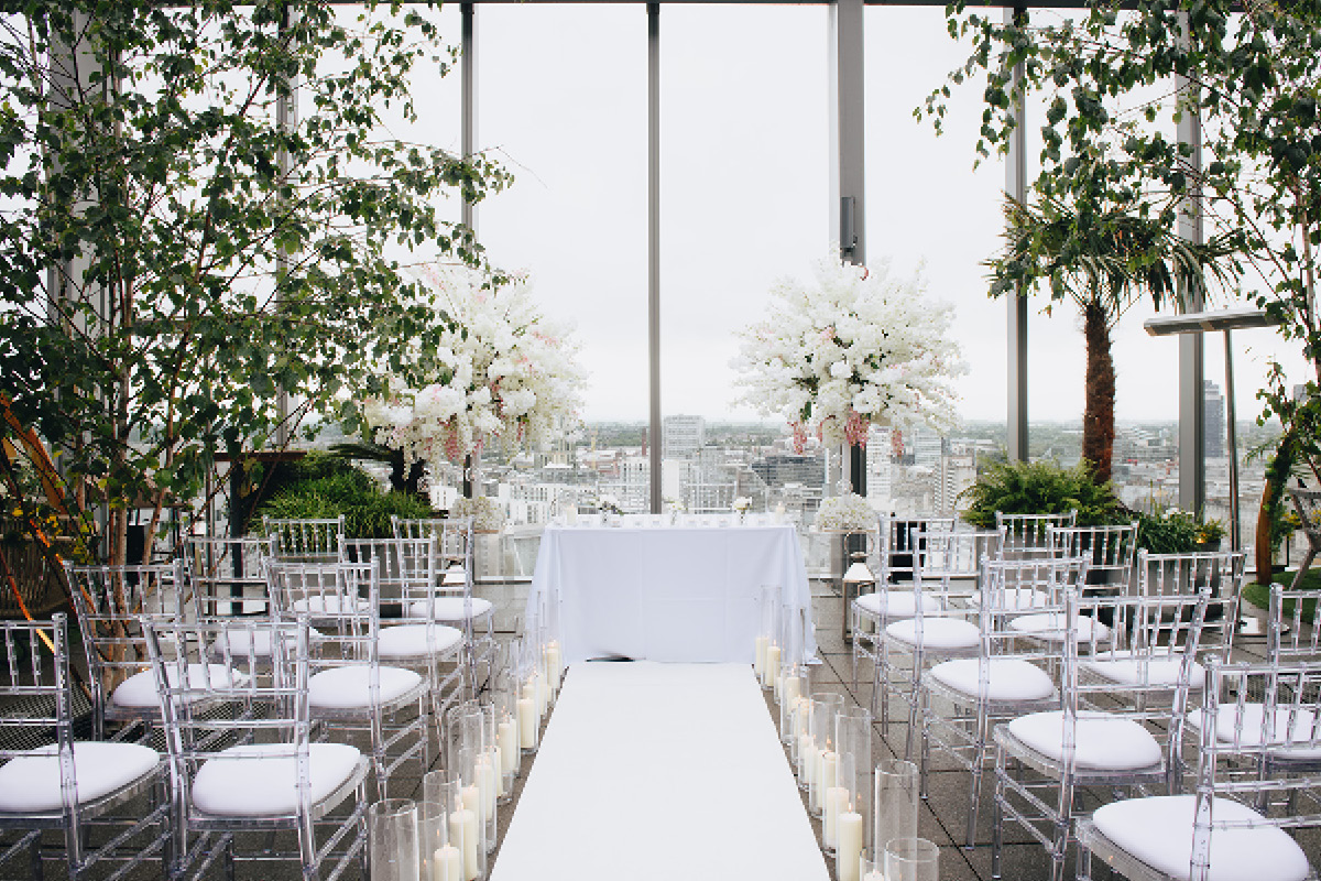 City wedding venues 20 Stories Manchester