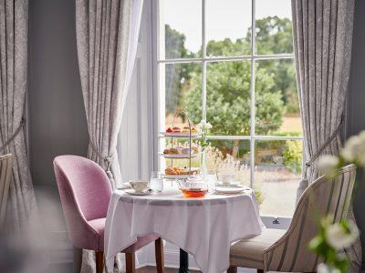 Burnham Beeches Hotel afternoon tea