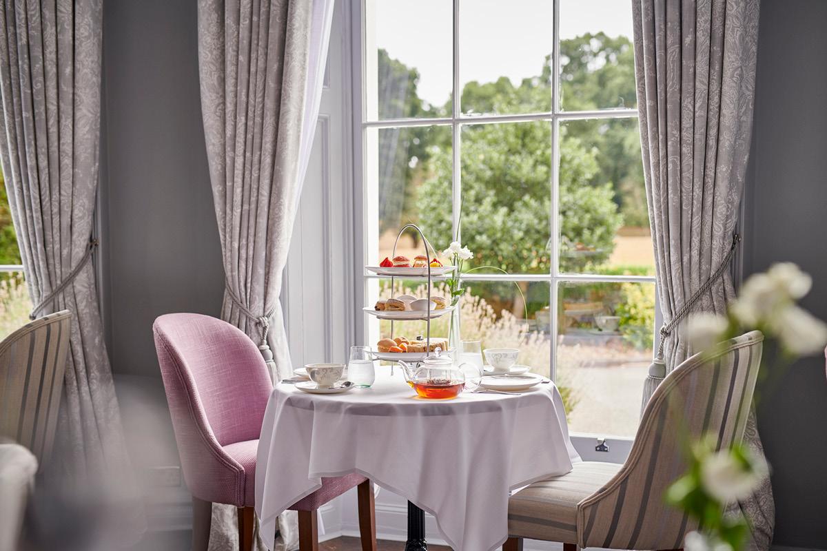Win Burnham Beeches Hotel afternoon tea