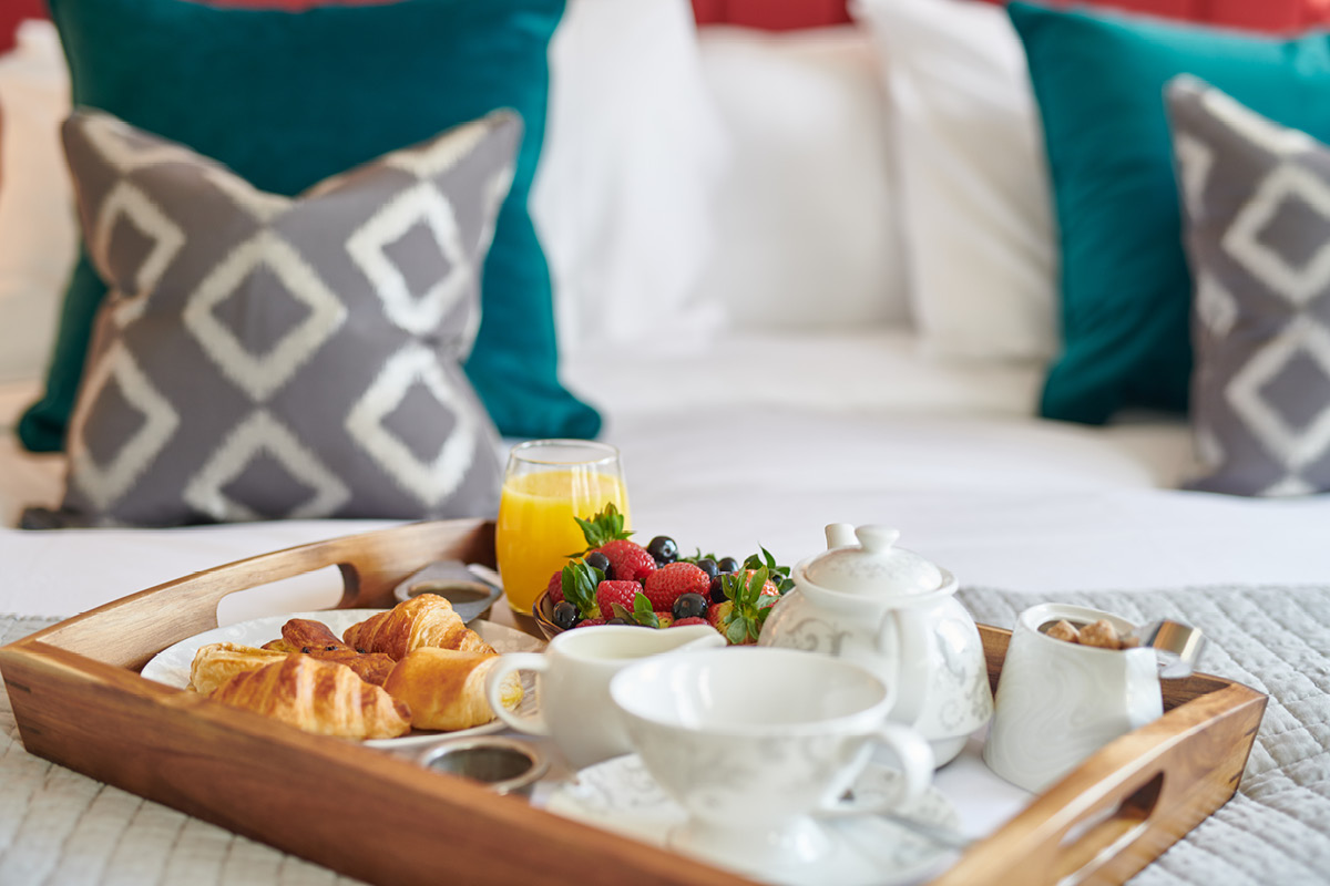 Burnham Beeches Hotel breakfast