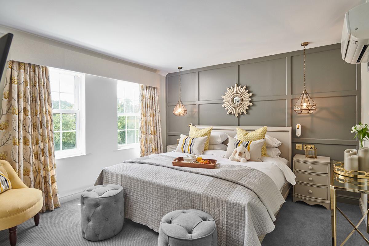 Burnham Beeches Hotel double bedroom