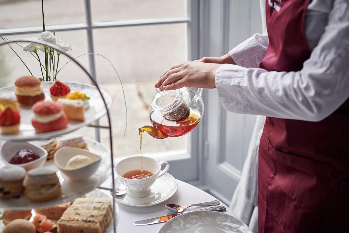 Burnham Beeches Hotel tea