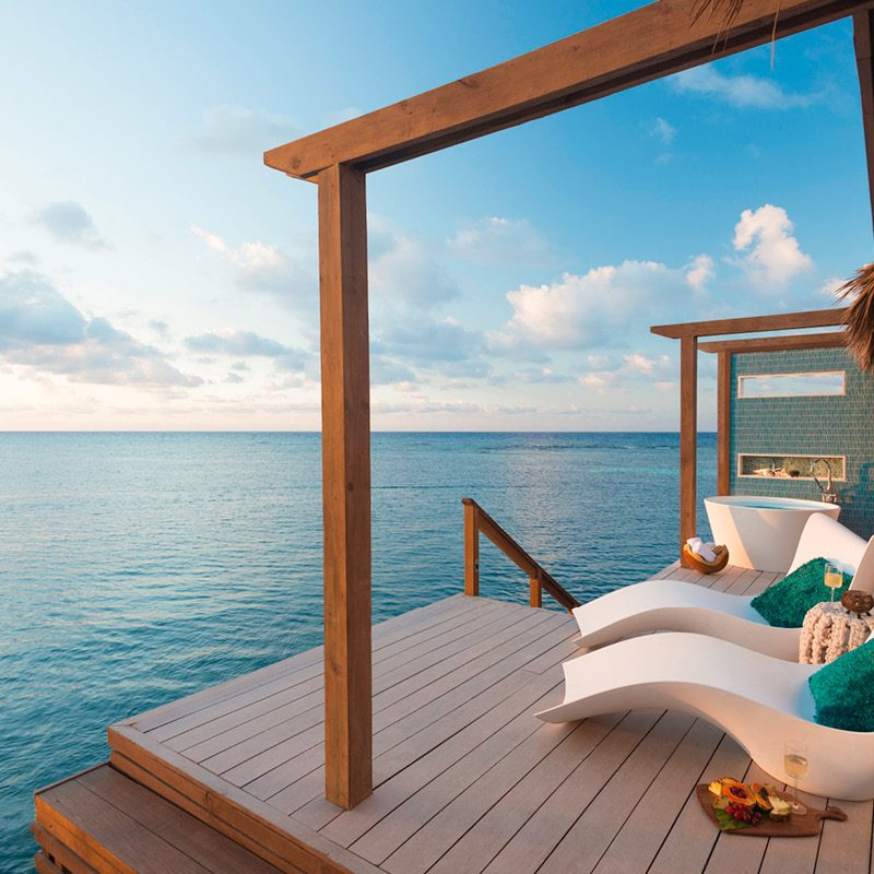 Sandals Royal Caribbean Over the Water Bungalow