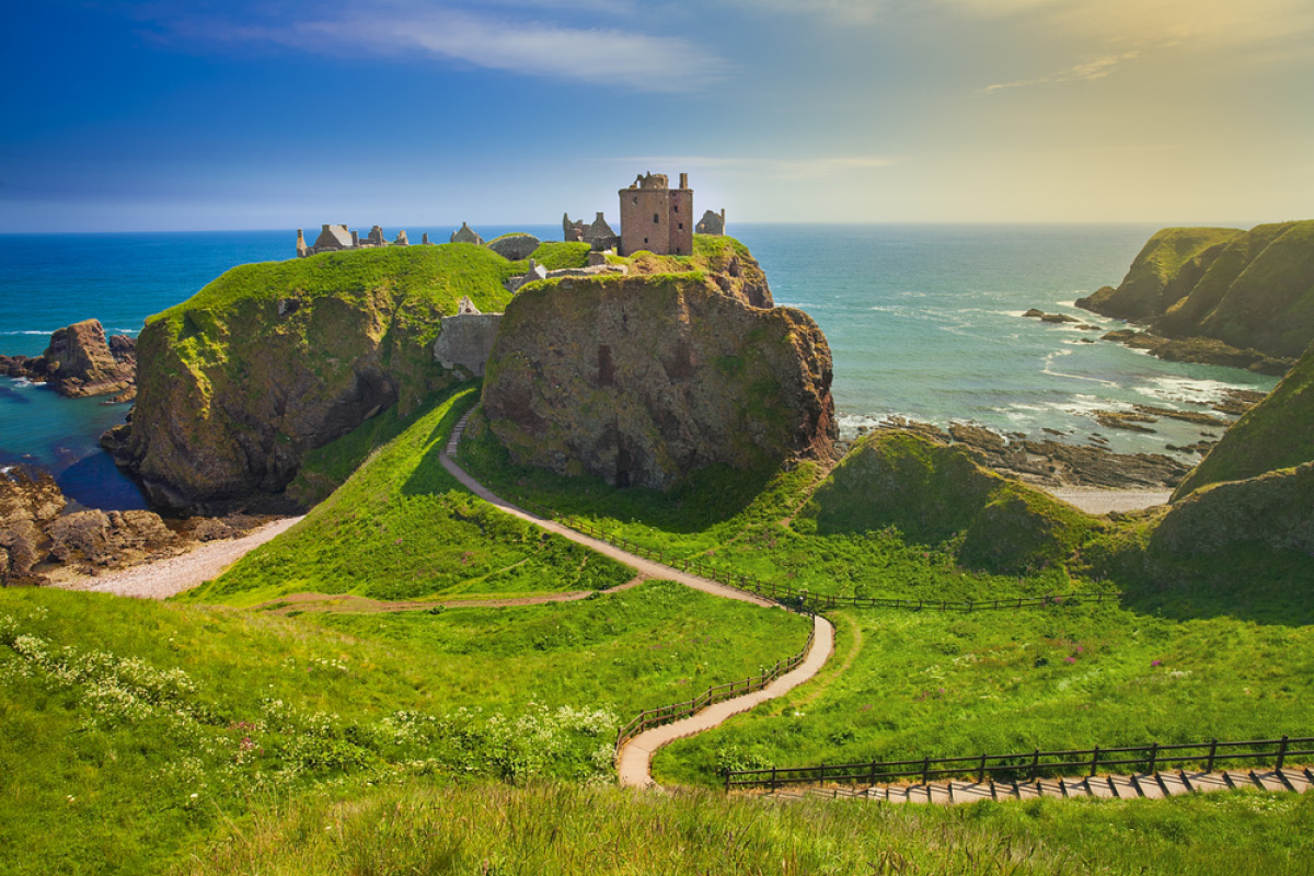 married in scotland Dunnottar Castle Scotland