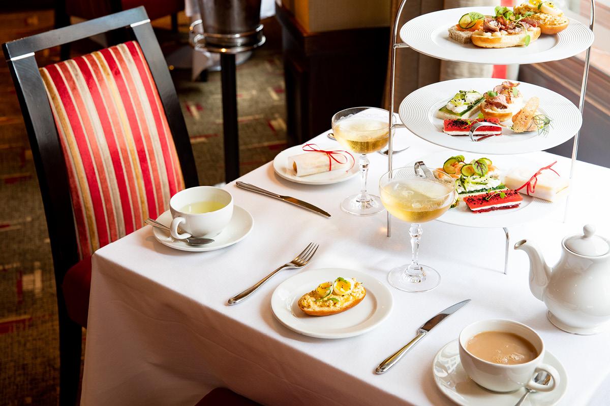 The Cavendish London table setting