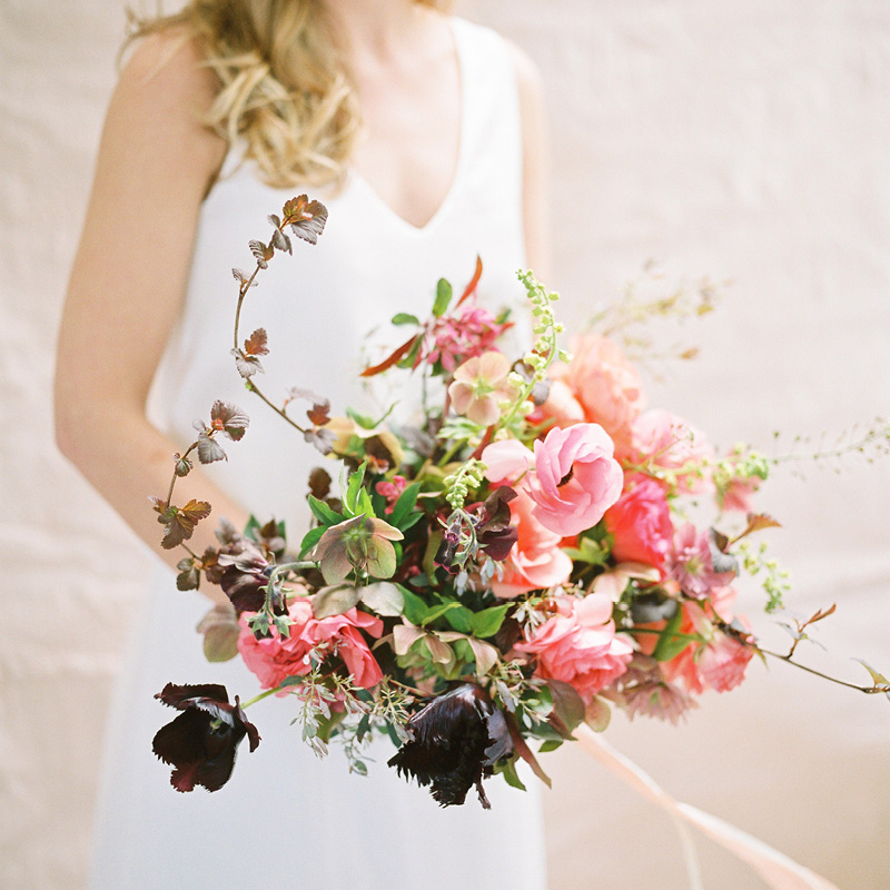 Moss & Stone bouquet