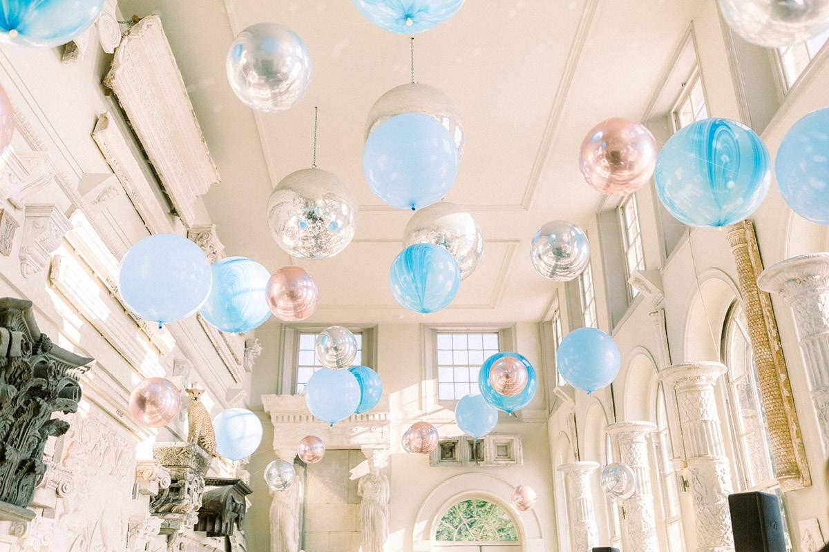 Aynhoe Park balloons