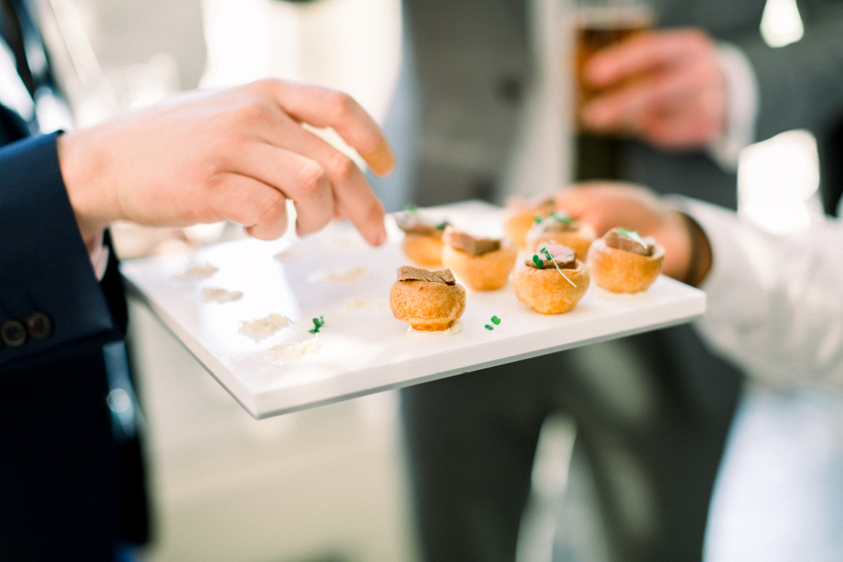Aynhoe Park canapes