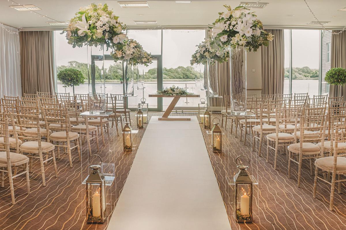 De Vere Cotswold Water Park Mallard Suite ceremony