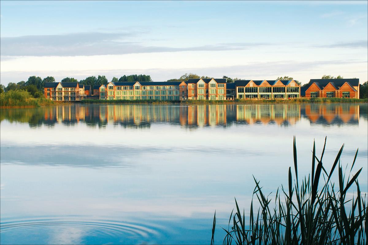 De Vere Cotswold Water Park lake