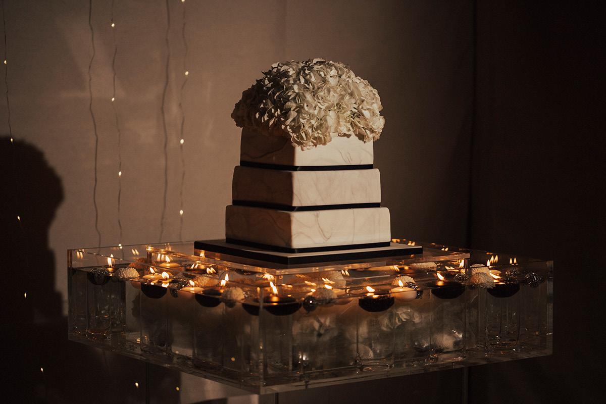 Iscoyd Park white cake