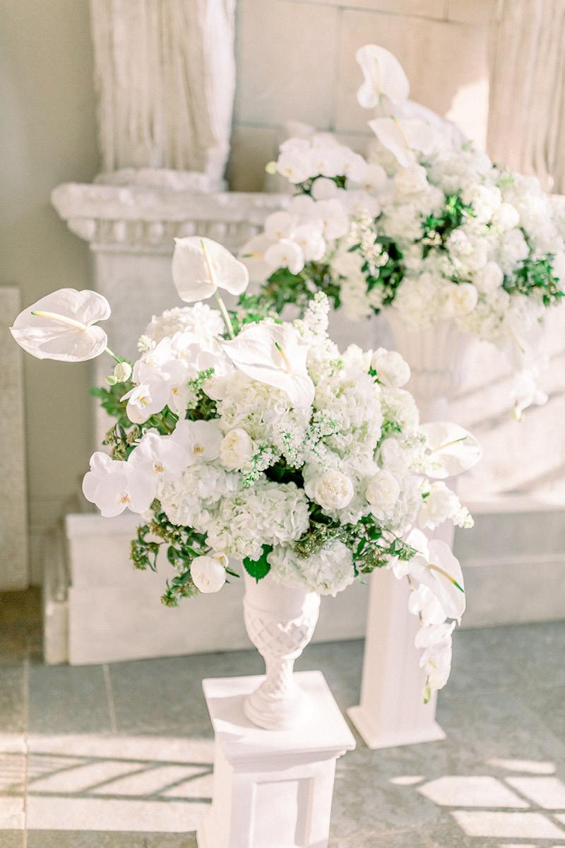 Aynhoe Park floral display