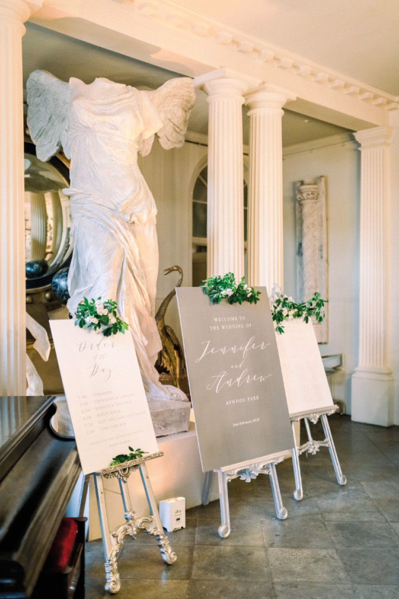 Aynhoe Park table plan