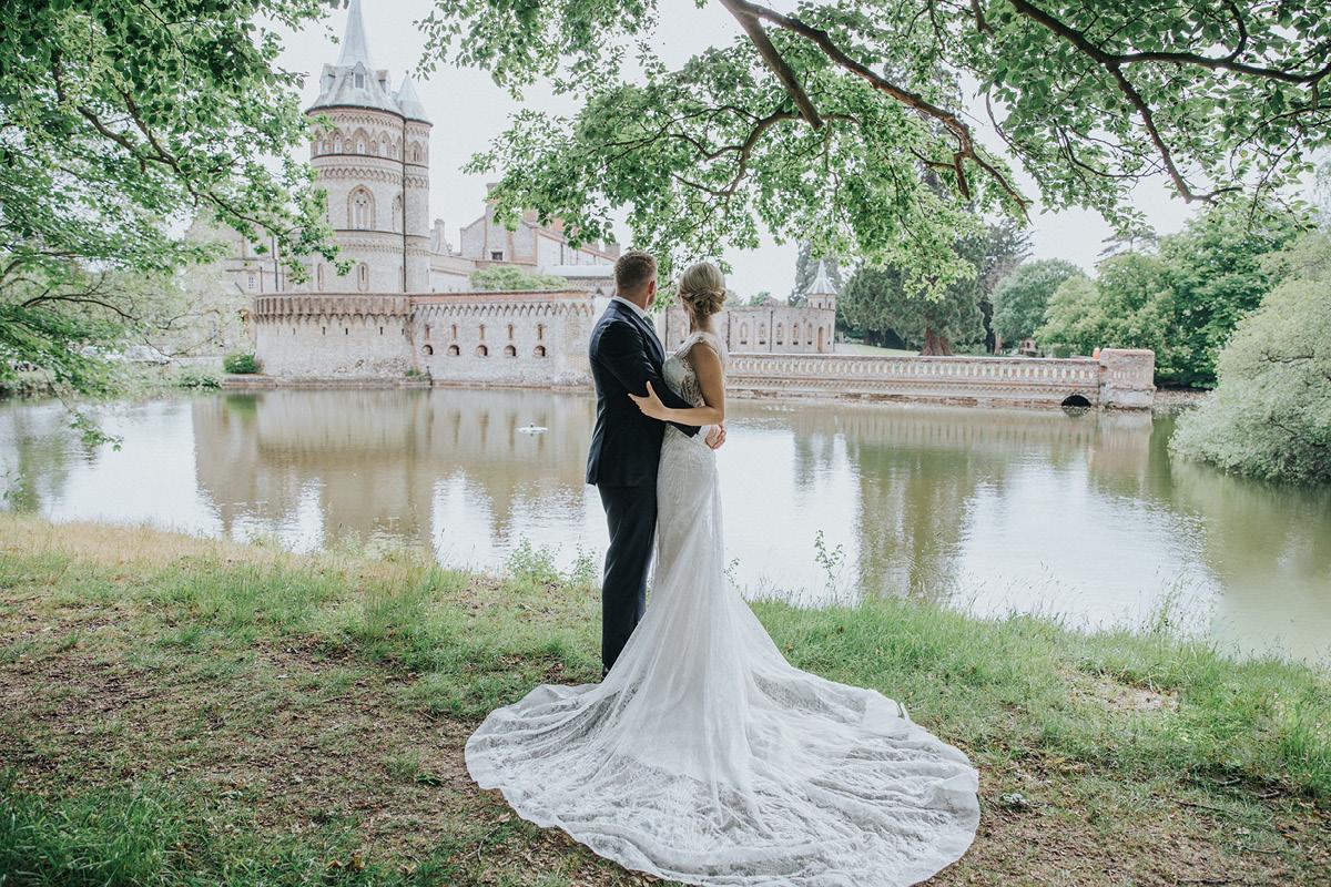 Horsley Towers wedding couple