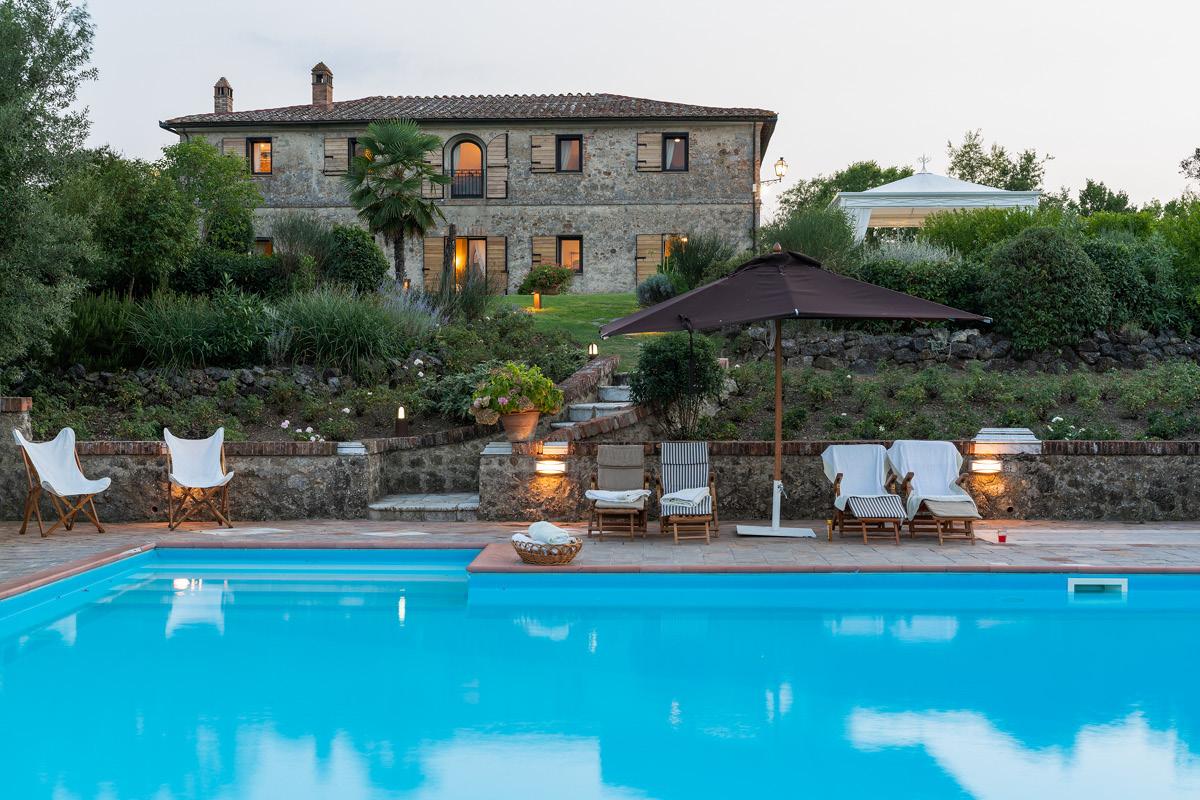 Palazzo Cheto Tuscany pool